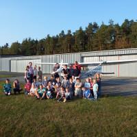 26 Kinder von Rundflügen über Schirmitz begeistert